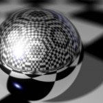 Chrome Ball PowerPoint Background 1
