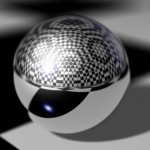 Chrome Ball PowerPoint Background 4