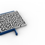 Maze PowerPoint Background 4