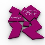 Olympic Logo PowerPoint Background 1