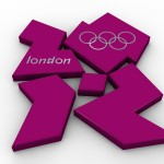 Olympic Logo PowerPoint Background 2