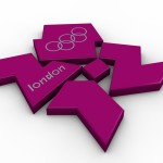 Olympic Logo PowerPoint Background 5