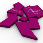 Olympic Logo PowerPoint Background 6