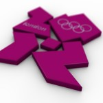 Olympic Logo PowerPoint Background 8