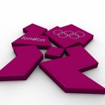 Olympic Logo PowerPoint Background 22