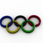Olympic Rings PowerPoint Background 1