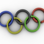 Olympic Rings PowerPoint Background 3