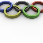 Olympic Rings PowerPoint Background 4