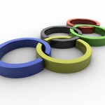 Olympic Rings PowerPoint Background 8