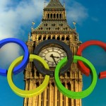 Olympic Rings PowerPoint Background 14