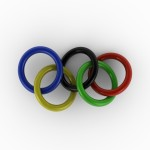 Olympic Rings PowerPoint Backgrounds 3