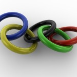 Olympic Rings PowerPoint Backgrounds 4