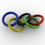 Olympic Rings PowerPoint Backgrounds 5