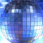 Mirrorball PowerPoint Backgrounds 1