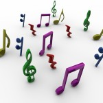 Musical Notes PowerPoint Background 1