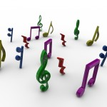 Musical Notes PowerPoint Background 2