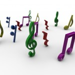 Musical Notes PowerPoint Background 3