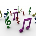 Musical Notes PowerPoint Background 4