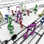 Musical Notes PowerPoint Background 5