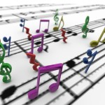 Musical Notes PowerPoint Background 6