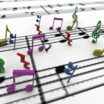 Musical Notes PowerPoint Background 7
