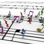 Musical Notes PowerPoint Background 8