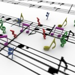 Musical Notes PowerPoint Background 9