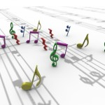 Musical Notes PowerPoint Background 11