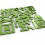QR Code PowerPoint Background 12