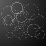 Black Circles PPT Template