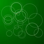 Green Circles PPT Template