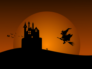 halloween – powerpoint backgrounds, Modern powerpoint