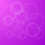 Pink Circles PPT Template