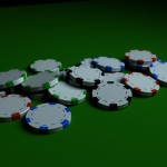 Poker Chips PowerPoint Background 1