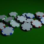 Poker Chips PowerPoint Background 2