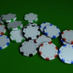 Poker Chips PowerPoint Background 5