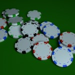 Poker Chips PowerPoint Background 6