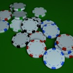 Poker Chips PowerPoint Background 7