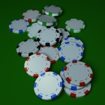 Poker Chips PowerPoint Background 8