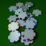 Poker Chips PowerPoint Background 9