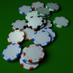 Poker Chips PowerPoint Background 10