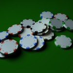 Poker Chips PowerPoint Background 12
