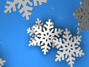 Another Animated Snowflake Background