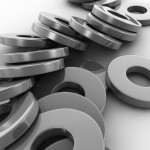 Metal Washers PowerPoint Background 1