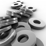 Metal Washers PowerPoint Background 2