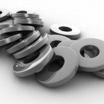 Metal Washers PowerPoint Background 4