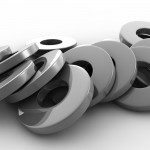 Metal Washers PowerPoint Background 6