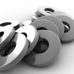 Metal Washers PowerPoint Background 7