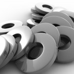 Metal Washers PowerPoint Background 8