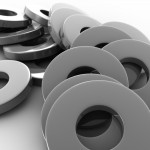 Metal Washers PowerPoint Background 10